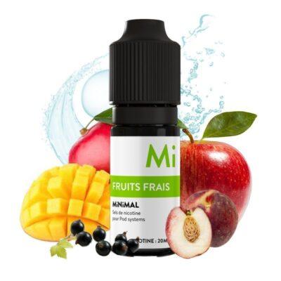 e liquide fruits frais minimal 10 ml