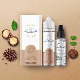 e-liquide la pause noisette 50 ml de Petit Nuage