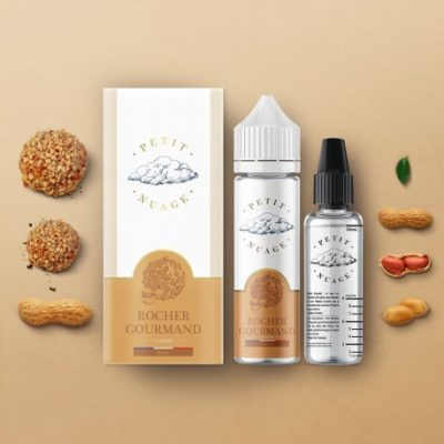 e-liquide rocher gourmand 50 ml de Petit Nuage