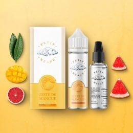 e-liquide zeste de mangue 50 ml de Petit Nuage