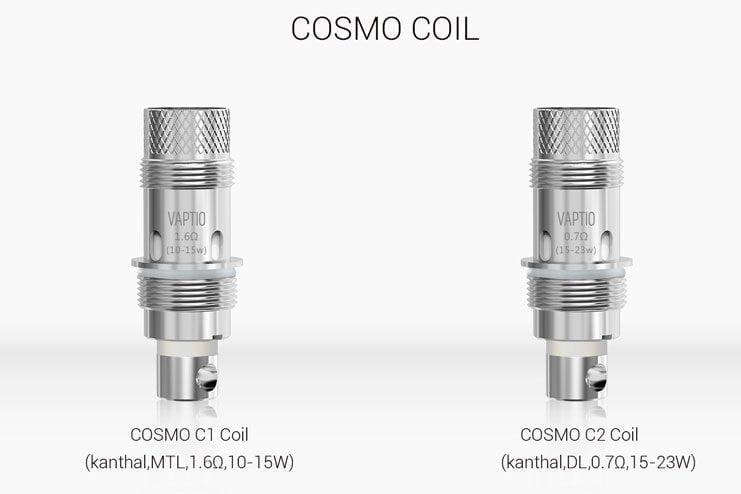 résistances Cosmo coil vaptio