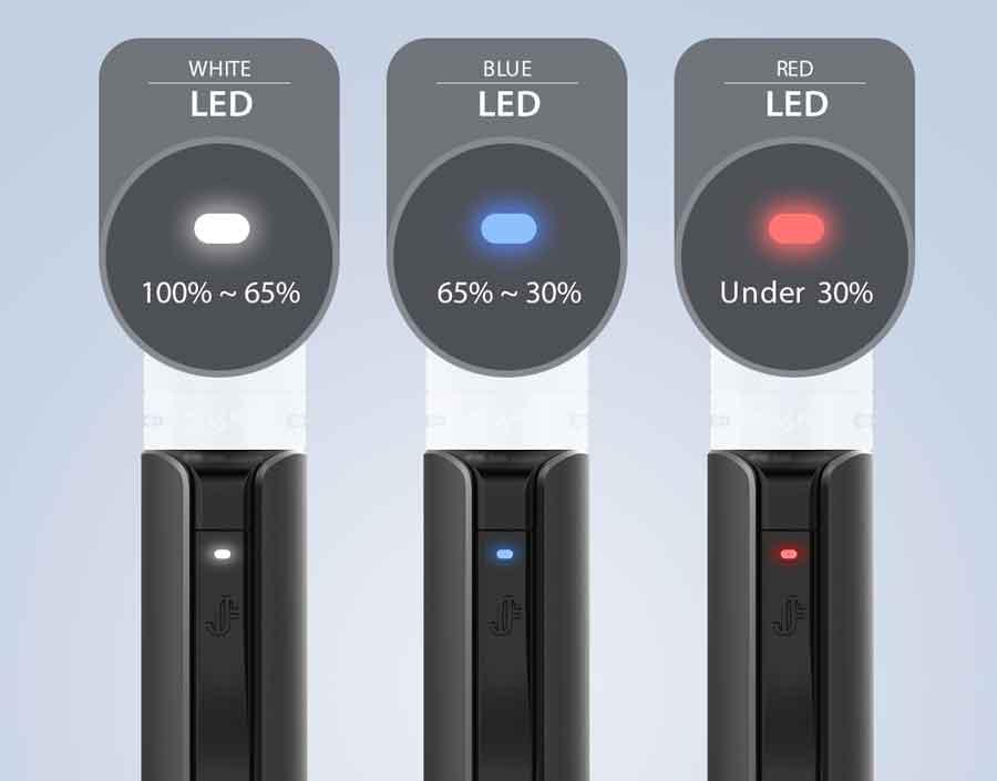 niveau batterie kit Q16