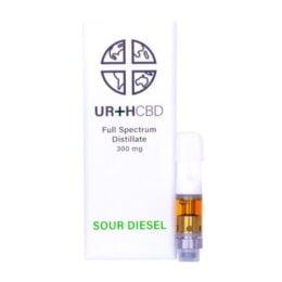 e liquide CBD Sour diesel Urth