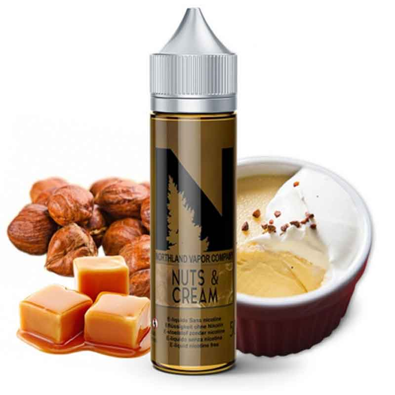 e-liquide nuts and cream 50 ml Northland
