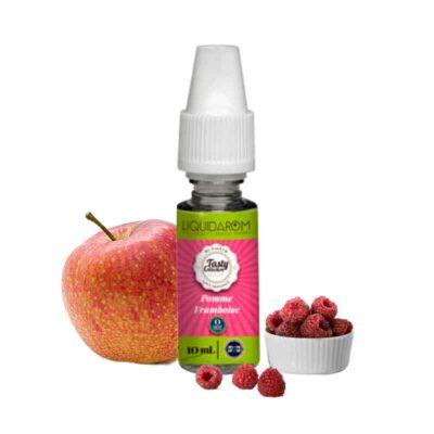 e-liquide pommr framboise tasty liquidarom 10 ml