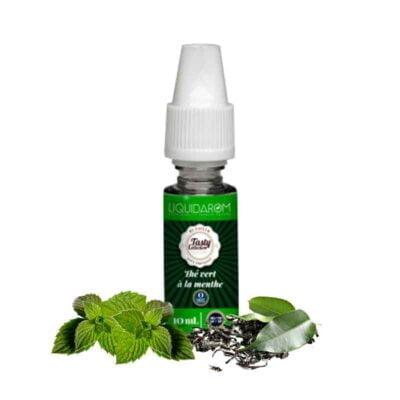 e-liquide thé vert à la menthe liquidarom