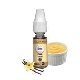 e liquide crème vanille tasty liquidarom