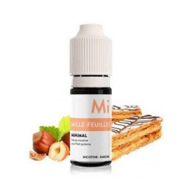 e-liquide minimal sel de nicotine mille feuille the fuu 10 ml