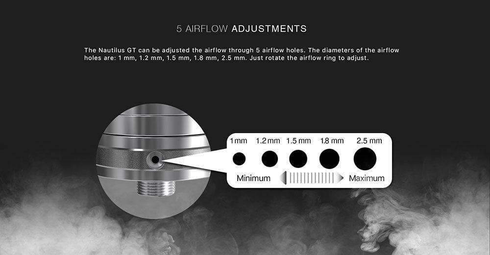 airflow du nautilus gt