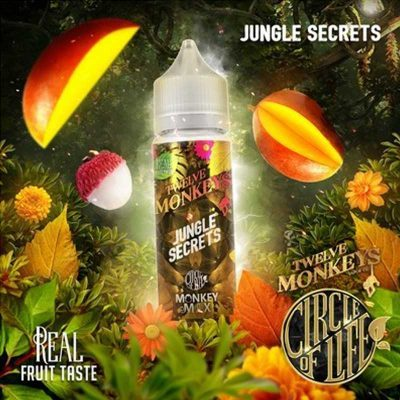 e-liquide jungle secret aux fruits tropicaux