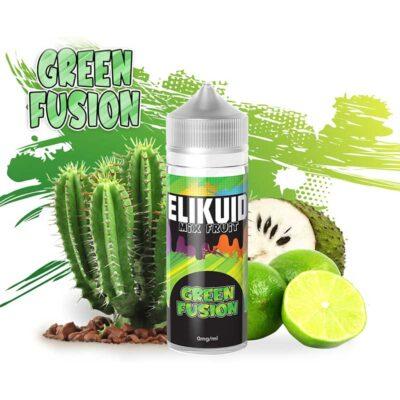 e-liaquide green fusion par Elikuid