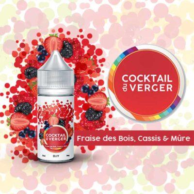 arome cocktail du verger fraise des bois cassis