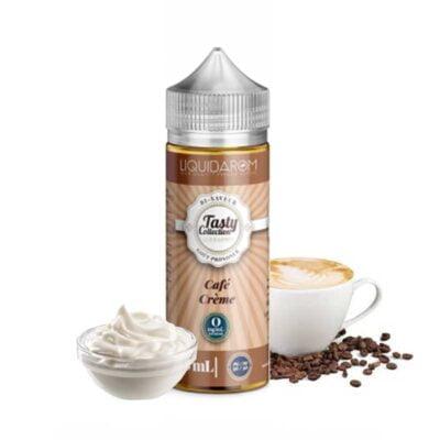 e-liquide café crême tasty 100 ml