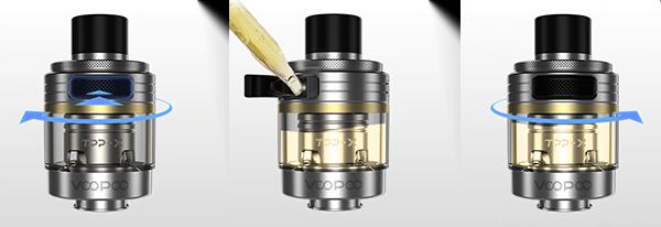 pod-drag-x-drag-s-pro-21700-tpp refill-voopoo